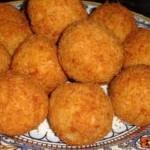 Lentejas con croquetas de arroz versión Arguiñano